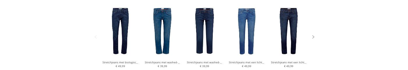 Uitgelijnde Jeans
